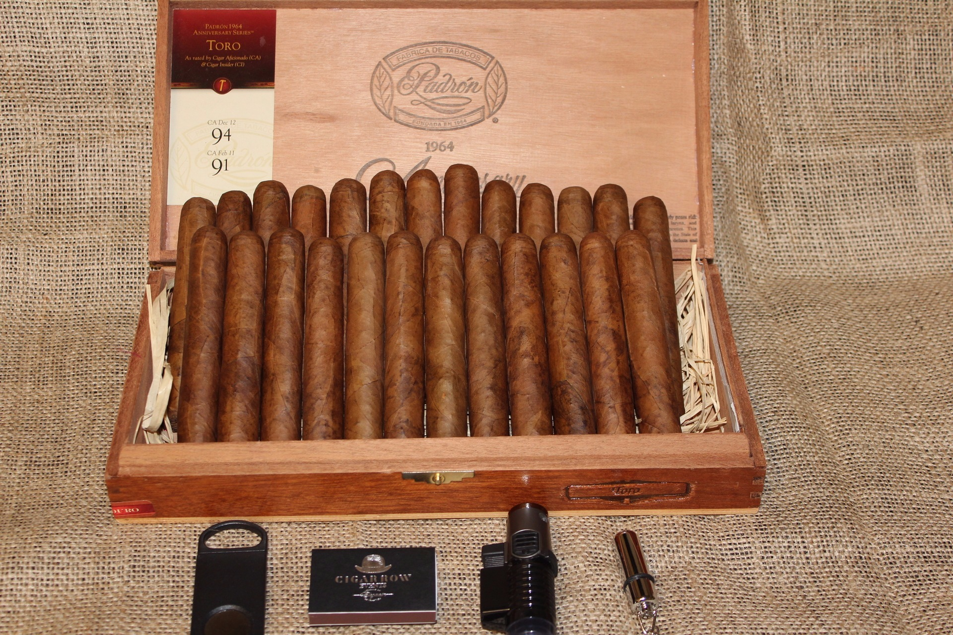 PADRON CIGAR BOX
