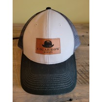 CRE trucker style hat - front view